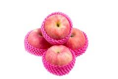 Pomme rouge abstraite Photographie stock libre de droits