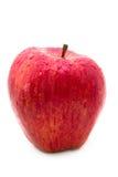 Pomme rouge avec des waterdrops Images stock