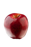 Pomme rouge d'isolement Images stock
