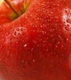 Pomme rouge fraîche Images libres de droits
