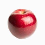 Pomme rouge fraîche d'isolement Images libres de droits