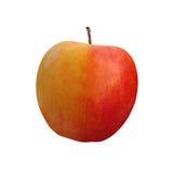 Pomme rouge sur le fond blanc Photographie stock