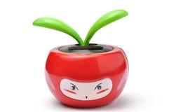 Pomme solaire de rouge de jouet Photo libre de droits