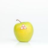 Pomme souillée photo stock
