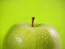 Pomme verte Photo stock