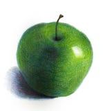 Pomme verte Photos libres de droits
