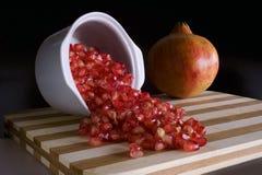 Pommegranate 免版税库存图片