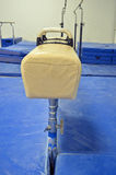 Pommel Horse end view Royalty Free Stock Images