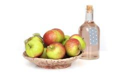 Pommes écologiques Photo libre de droits