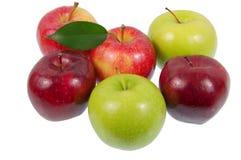 Pommes. Images stock