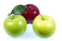 Pommes. Photographie stock