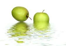Pommes abstraites Photographie stock