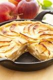 Pommes aus. di Tarte Fotografia Stock