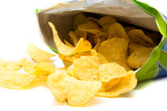Pommes chips photo stock