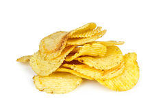 Pommes chips photo libre de droits