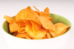 Pommes chips Images stock