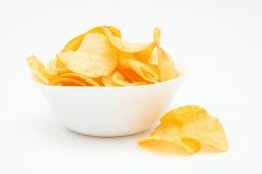 Pommes chips. Images libres de droits
