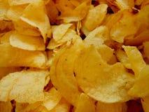 Pommes chips de Cruncy photos libres de droits