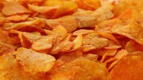 Pommes chips de paprika clips vidéos