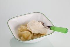 Pommes cuites Photo libre de droits