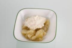 Pommes cuites Image libre de droits