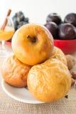 Pommes cuites au four Image stock