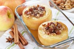 Pommes cuites au four Photo libre de droits