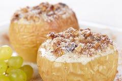 Pommes cuites au four Images stock