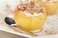 Pommes cuites au four Images libres de droits