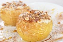 Pommes cuites au four Photos libres de droits