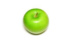 Pommes d'isolement sur le fond blanc image stock