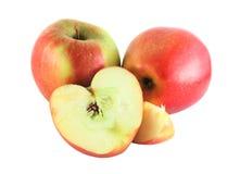 Pommes de Cutted image libre de droits