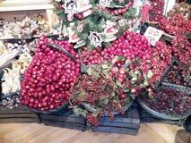 Pommes de Pâques dans un magasin de spécialités Salzbourg Autriche avant Easterprocessed, pommes vides, image libre de droits