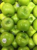 Pommes de Smith de mamie Images libres de droits