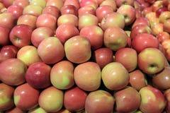 Pommes de stock de nourriture Photos libres de droits