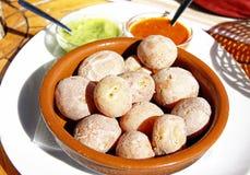 Pommes de terre avec le mojo Images stock