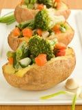 Pommes de terre bourrées Images stock