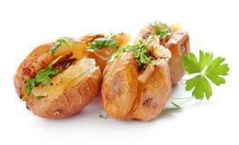 Pommes de terre cuites au four Image libre de droits