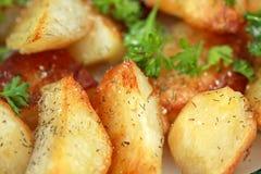 Pommes de terre cuites au four Images libres de droits