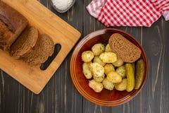 Pommes de terre cuites au four de bébé Photo libre de droits