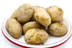 Pommes de terre cuites fraîches de Brown Photo libre de droits