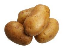 Pommes de terre, d'isolement Photo libre de droits