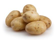 Pommes de terre d'isolement sur le fond blanc photo stock
