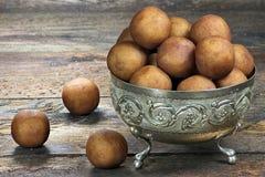 Pommes de terre 05 de massepain Images stock