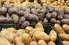 Pommes de terre en bloc Image stock