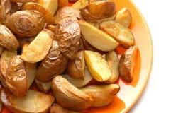 pommes de terre en robe de chambre cuites au four leurs Photo stock