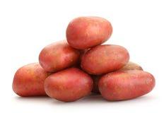 Pommes de terre entières fraîches photo stock