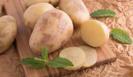Pommes de terre fraîches Photo libre de droits