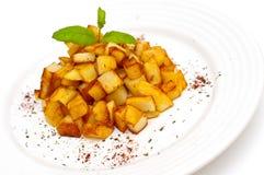 Pommes de terre frites Images libres de droits