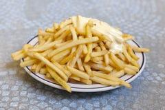 Pommes de terre frites Image libre de droits